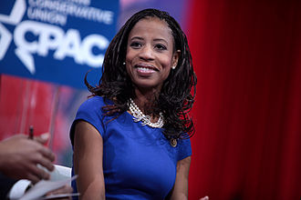 Mia Love - Mia Love speaking at the 2015 Conservative Political Action Conference (CPAC) in National Harbor, Maryland on February 26, 2015.