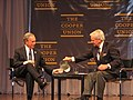 Michael Bloomberg and Tom Brokaw (1441108002).jpg