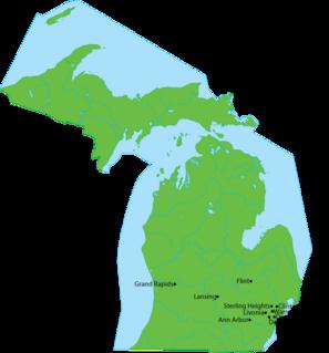 Peninsulas of Michigan