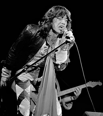 Mick Jagger - Jagger performing in May 1976, in Zuiderpark Stadion, The Hague, Netherlands