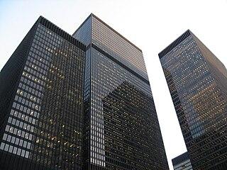 cluster of buildings in Toronto, Ontario, Canada