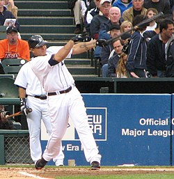 Miguel Cabrera on May 9, 2008