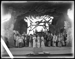 Mikadon, Vasateatern 1901. Föreställningsbild