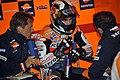 Mike Leitner, Dani Pedrosa and Alberto Puig 2011 Laguna Seca.jpg