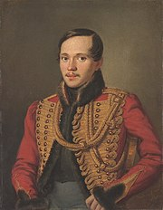 Mikhail Lermontov in 1837