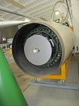 Mikoyan MiG-21PFM radar at Luftfahrtmuseum Wernigerode.jpg