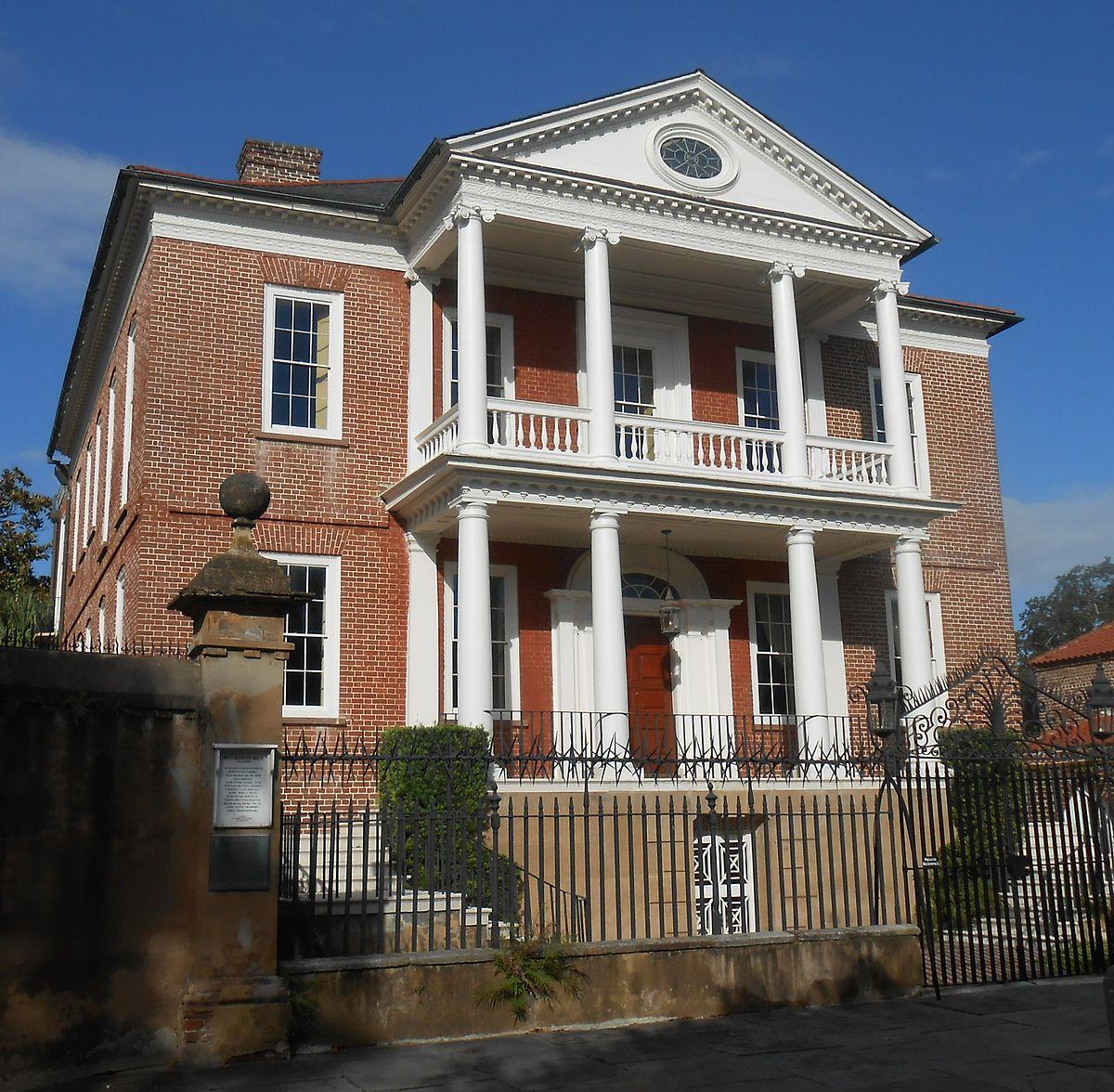 Miles Brewton House - Wikipedia