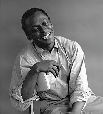 Miles Davis - Davis photographed in his New York City home by Tom Palumbo, c. 1955–1956