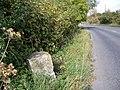 Milestone, Barford St Martin - geograph.org.uk - 1551318.jpg