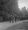 Militaire begrafenis in Engeland (generaal Noothoven van Goor). Generaal-majoor, Bestanddeelnr 935-3412.jpg