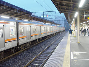 Minami-Urawa Station - Musashino Line platforms