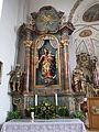 Mindelau - St. Jakobus der Ältere - Seitenaltar links.JPG