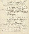 Minute d'arrêté du Directoire exécutif rapportant un arrêté du 27 nivôse an IV (17 janvier 1796) - Archives Nationales - AF-III-454 - (2).jpg