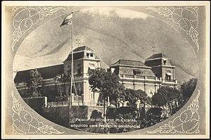 Miraflores Palace - Miraflores facade in 1930