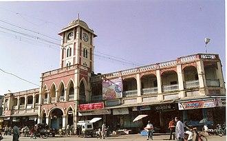 Sangli district - Image: Mirajmarketnorth