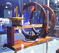 Mirror Galvanometer, James W. Queen & Company, Philadelphia, early 20th century - Museum of Science and Industry (Chicago) - DSC06512.JPG