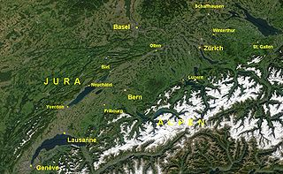 Swiss Plateau geographic region