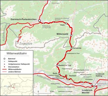 Mittenwaldbahn Wikipedia
