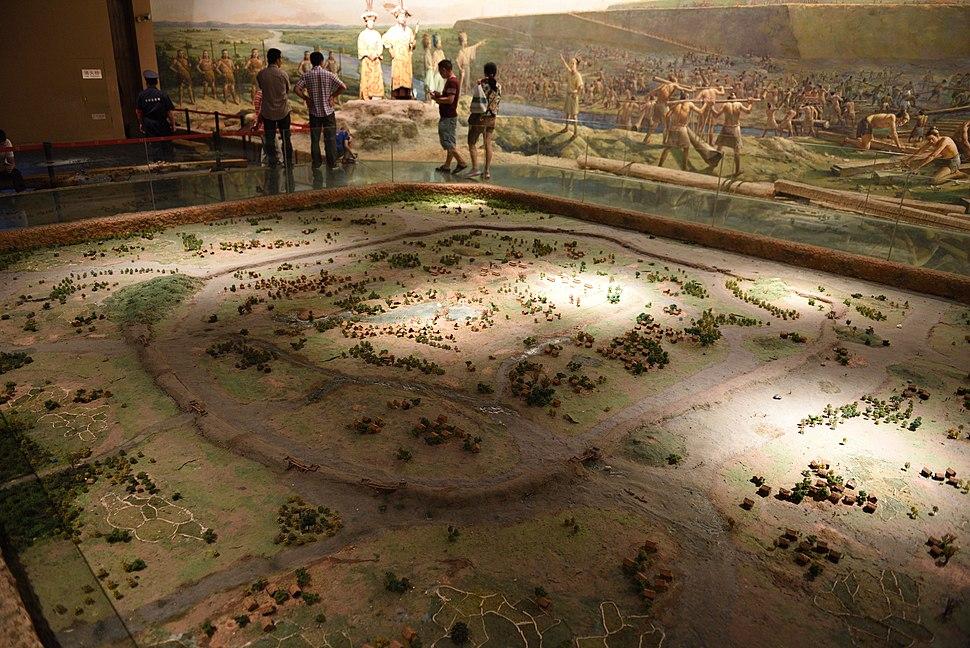 Model of Liangzhu Ancient City