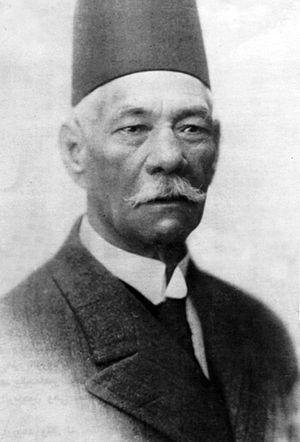 W. Hanselman - Famous portrait of Saad Zaghloul by Hanselman