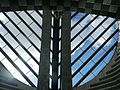 Mogno Botta-Kirche Innen Dach.JPG