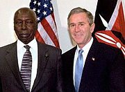 Moi and Bush