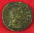 Monetiere di fi, moneta romana imperiale, aquilia severa.JPG