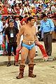 Mongolskie zapasy na stadionie w Ułan Bator 07.JPG