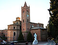 Monte oliveto maggiore, chiesa, ext. 01.JPG