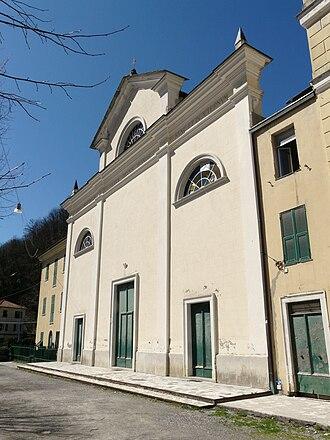 Montoggio - Image: Montoggio chiesa san giovanni decollato 4