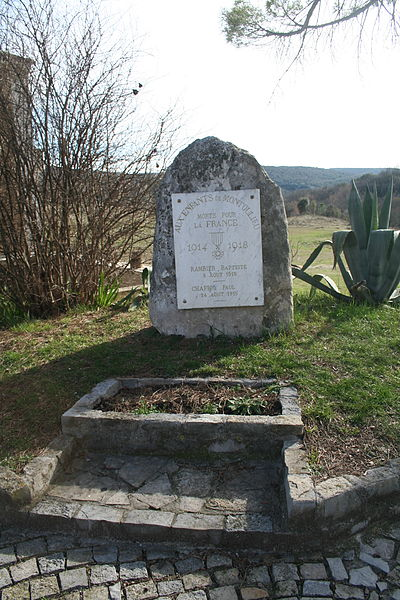 Montoulieu (Hérault) - monument aux morts