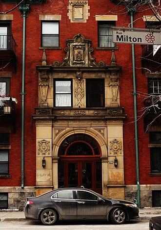 Milton Park, Montreal - Marlborough Apartments