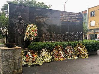 Armenia–Brazil relations - Monument to the victims of the Armenian genocide in São Paulo, Brazil