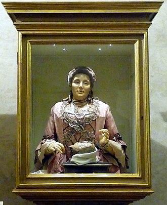 Anna Morandi Manzolini - Image: Morandi autoritratto