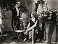 Morocco (film) 1930. Josef von Sternberg, director. L to R Adolphe Menjou, Marlene Dietrich.jpg