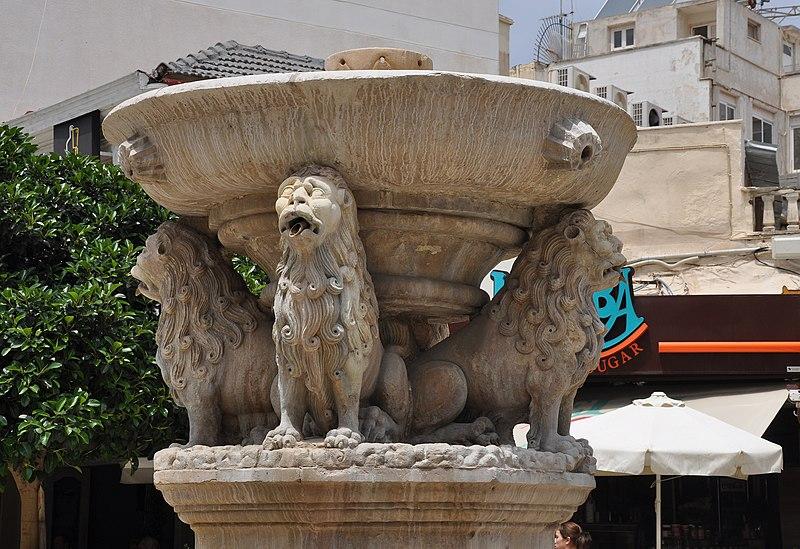 File:Morosini Fountain in Heracleion, Crete island, Greece 002.jpg