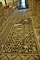 Mosaics of the Basilica, mid-6th century CE. Inside the Memorial Church of Moses, Mount Nebo, Jordan.jpg