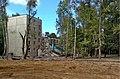 Moscow, Beskudnikovsky Boulevard 25 k3 - 2013 demolition.jpg