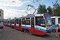 Moscow tram 71-619KT 1147+1142, new livery for 1 tram depot. (14626623143).jpg