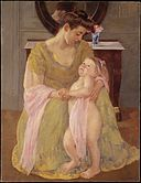 Mother and Child with a Rose Scarf MET DT7251.jpg