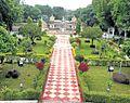 Moti Mahal Garden and Baija Taal view from Moti mahal ,Gwalior - panoramio.jpg
