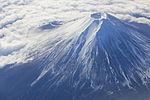 Mount Fuji - aerial view - 1394.JPG