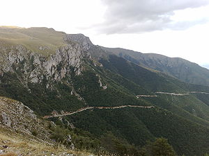 Geography of Bosnia and Herzegovina - Image: Mountain Vlašić Bosnia and Herzegovina
