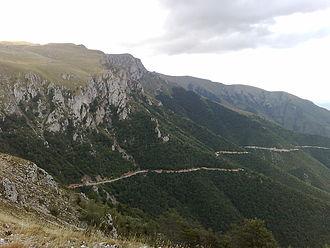 Geography of Bosnia and Herzegovina - Image: Mountain Vlašić Bosnia and Herzegovina