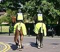 Mounted Police patrol, Montgomery Street - geograph.org.uk - 1367254.jpg