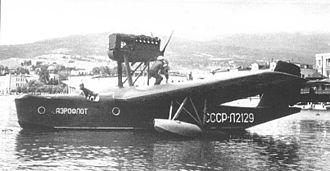 Beriev MBR-2 - Aeroflot MP-1 at Yalta, circa 1938.