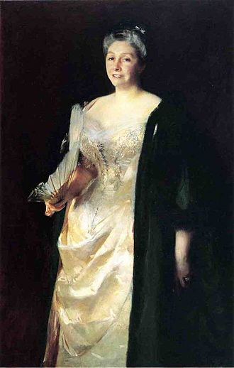 James Kitson, 1st Baron Airedale - Kitson's sister Emily, Mrs William Playfair (1841-1916), by John Singer Sargent, 1887