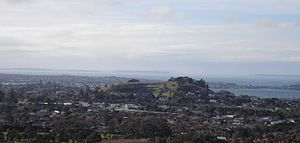 View of Ōhinerau / Mount Hobson and Remuera