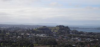 Remuera - View of Ōhinerau / Mount Hobson and Remuera