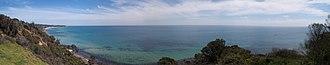 Mount Martha, Victoria - View Looking South towards Mount Martha Beach